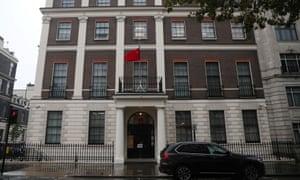 Kedutaan China tidak segera mengomentari laporan tersebut.