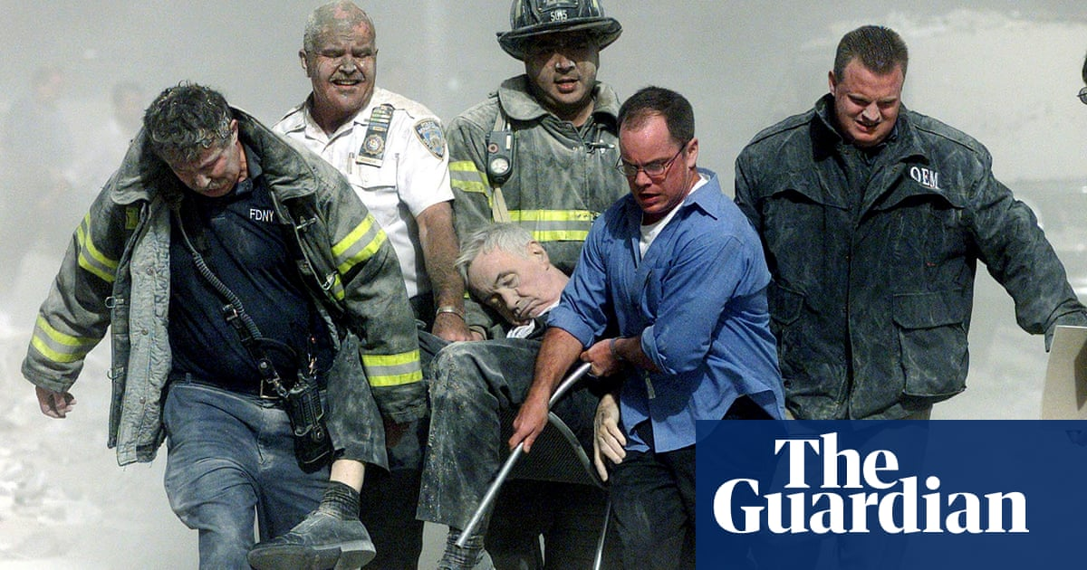'I'm the face of it': the people whose images came to define 9/11 reflect on the day