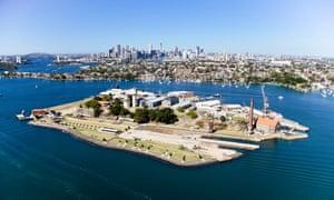 Остров Кокато, Сидней, Австралия