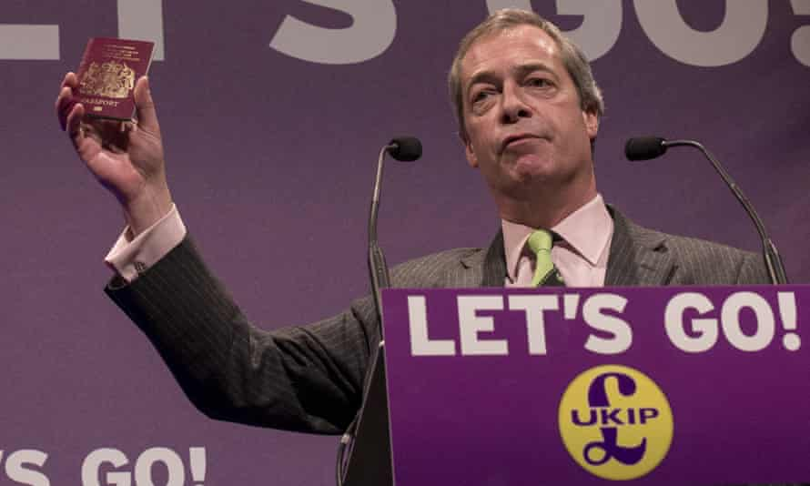 The EU poll pledge helped the Tories fend off Nigel Farage's Ukip party at the general election.