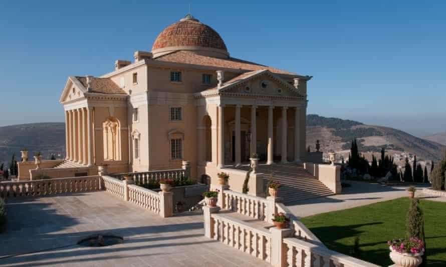 'My version is 10 metres taller' … the House of Palestine, built for Munib al-Masri.