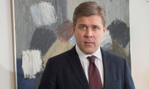 Iceland prime minister Bjarni Benediktsson