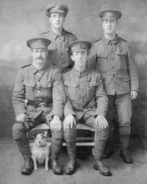 Four of the five Smith brothers from Barnard Castle, County Durham, who died in quick succession in the first world war.