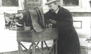 William A Bentley in 1906.