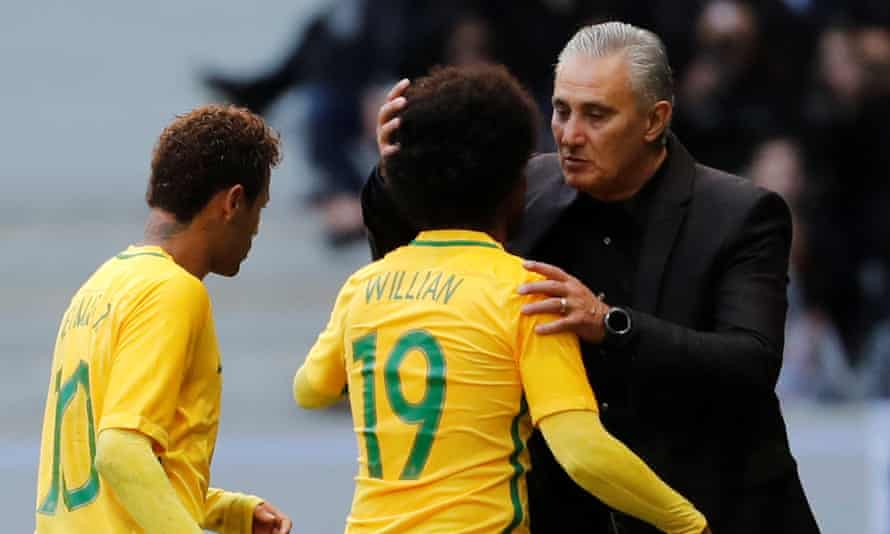 Having overseen their qualification for Russia 2018, Brazil's coach, Tite, takes his team to Wembley for a friendly against England on Tuesday.