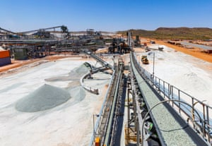Altura Lithium Project at Pilgangoora in WA.