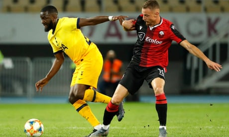 José Mourinho pleased with progress made by Tanguy Ndombele at Spurs