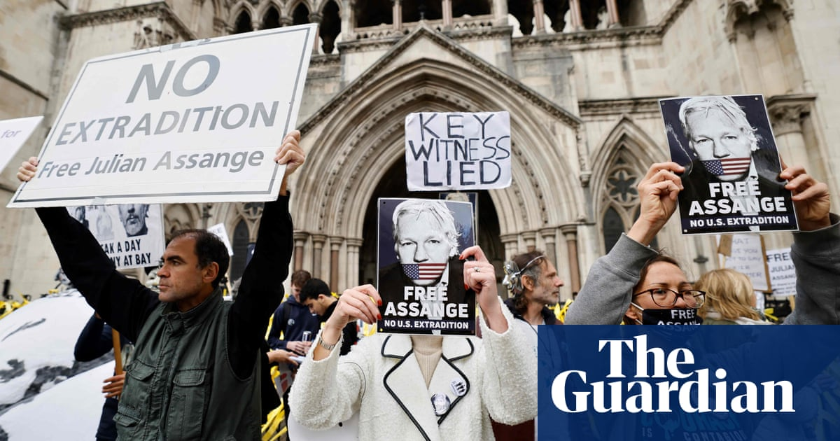 Assange extradition appeal: lawyers cite new claims of CIA plot to harm him