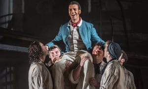 'Touchingly sincere'... Roderick Williams as Billy in Opera North's production of Billy Budd.
