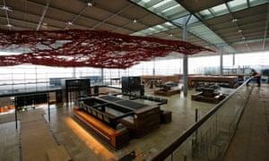 Berlin's Brandenburg International Airport: under construction for almost a decade