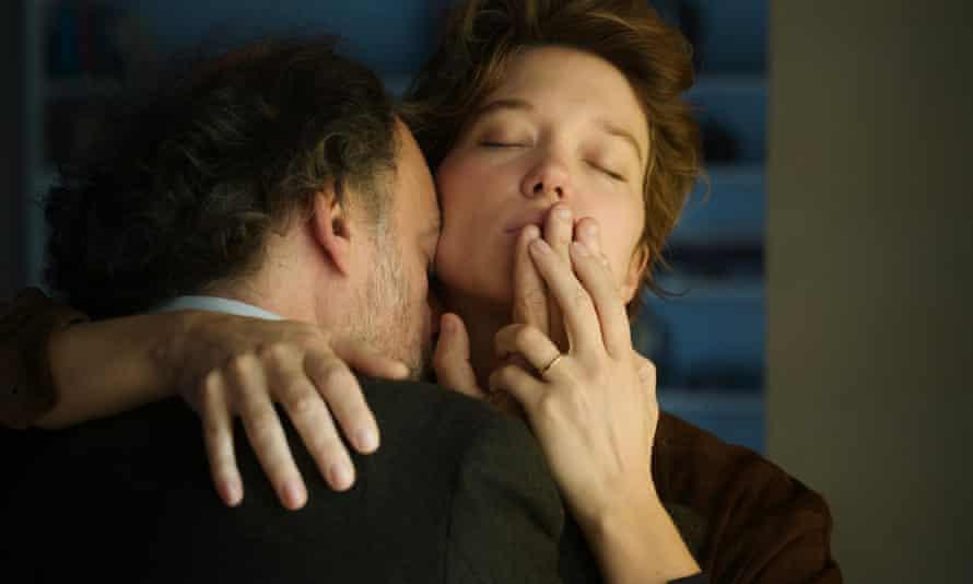 Denis Podalydès and Léa Seydoux in Deception.
