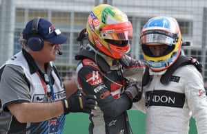 The crash must have brought back memories of another huge smash which Alonso survived 12 months ago while testing for the 2015 Australian Grand Prix.