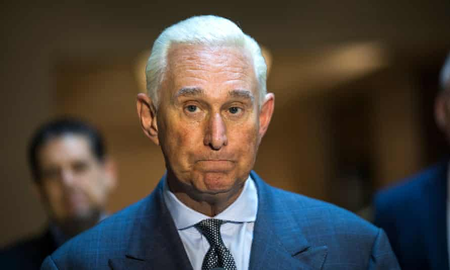 Roger Stone claims the special counsel Robert Mueller 'may frame me for some bogus charge in order to silence me or induce me to testify against the president'.