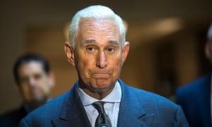 Roger Stone before the House Intelligence Committee last September.