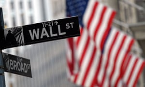 Wall Street sign in New York.