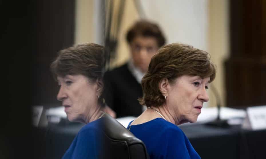 Senator Susan Collins has said she will not campaign against Joe Biden.