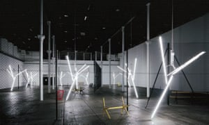 Liminal wasteland … Martin Boyce's Our Love is Like the Flowers, the Rain, the Sea and the Hours (2002).