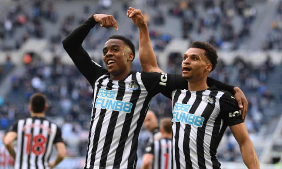 Joe Willock embodied Newcastle's recovery towards the end of the season.