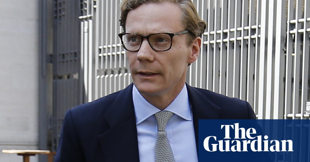 Former Cambridge Analytica chief receives seven-year directorship ban - The Guardian