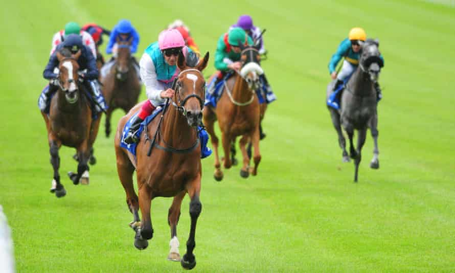 Enable and Frankie Dettori were easy winners of the Irish Oaks earlier this month.