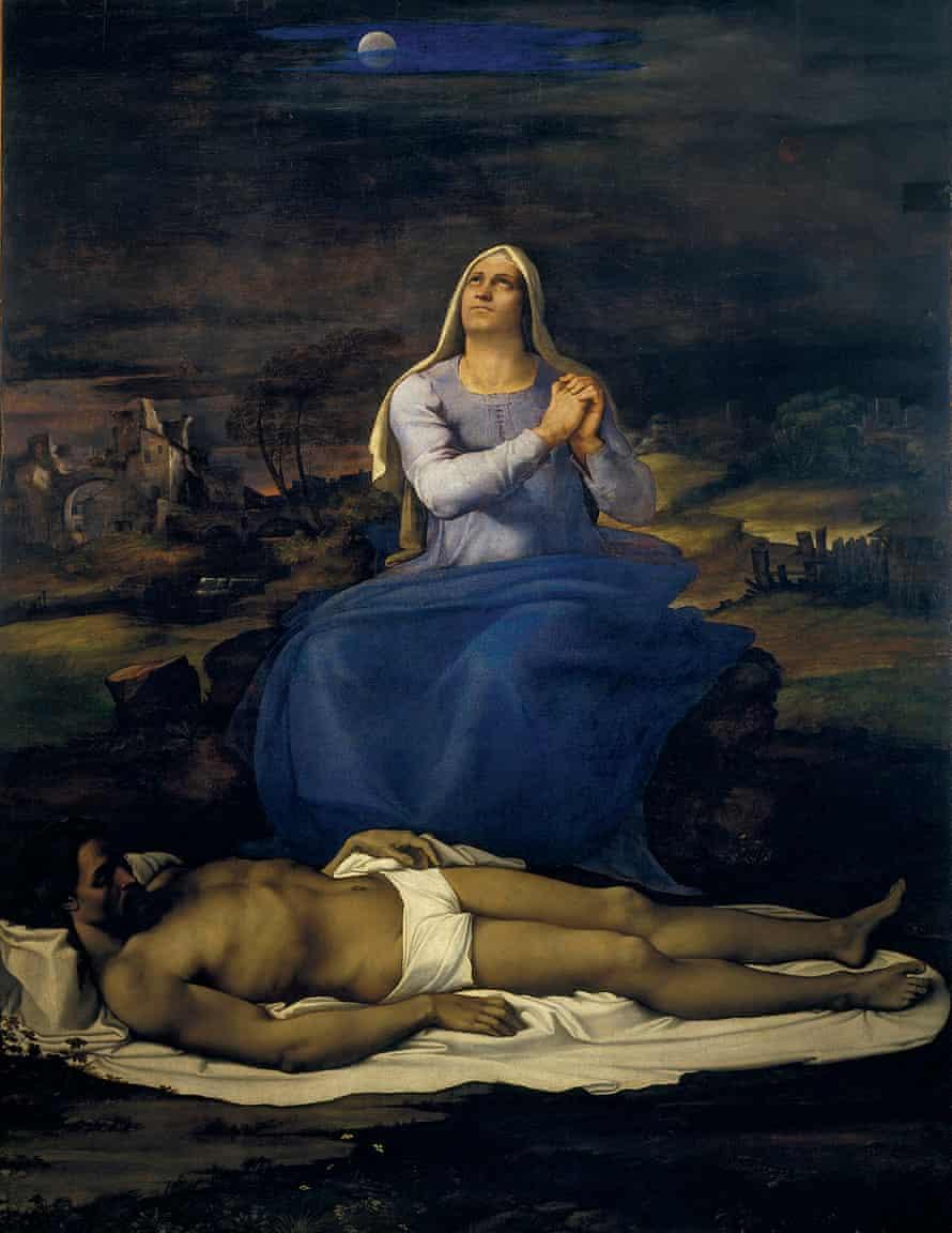 Sebastiano del Piombo's Pietà