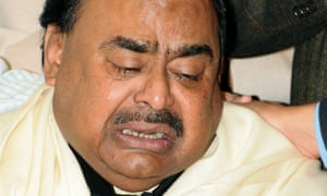 Altaf Hussain has led his party from the UK since 1991.