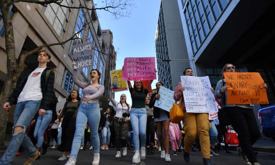 Abortion protest Sydney