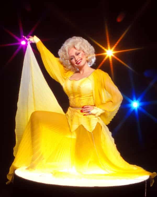 Deceptively political ... Dolly Parton in 1978