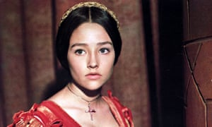 Olivia Hussey in Zeffirelli's Romeo and Juliet.