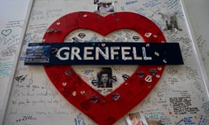 Tributes to the victims of the Grenfell Tower fire