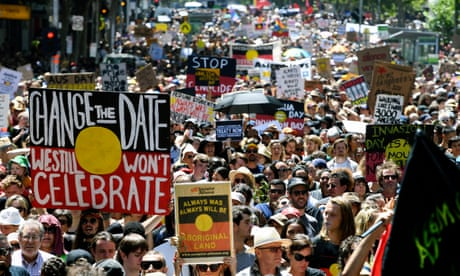 Huge crowds attend Invasion Day marches across Australia's capital cities