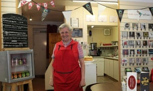 Celia Todd volunteers at the Well Cafe and comes from a family of steel workers.