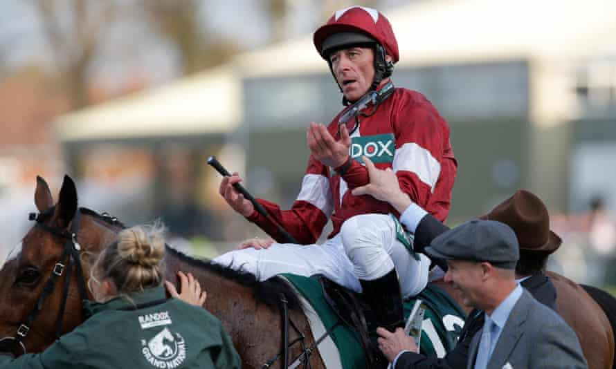 The moment Davy Russell heard that he won last year's Grand National on Tiger Roll.