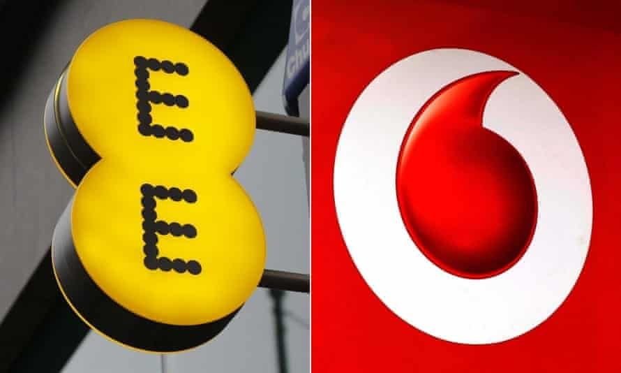 EE and Vodafone recorded the worst scores for customer satisfaction in the Which? survey.