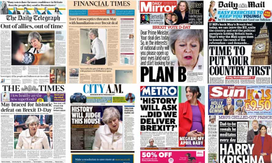 How the front pages reacted on the day of the Brexit vote