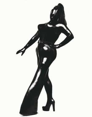 Leigh Bowery, Session VII, Look 38, 1994  Greer: 'One month later I received a telephone call from [his wife] Nicola Bateman telling me Leigh had died that morning'