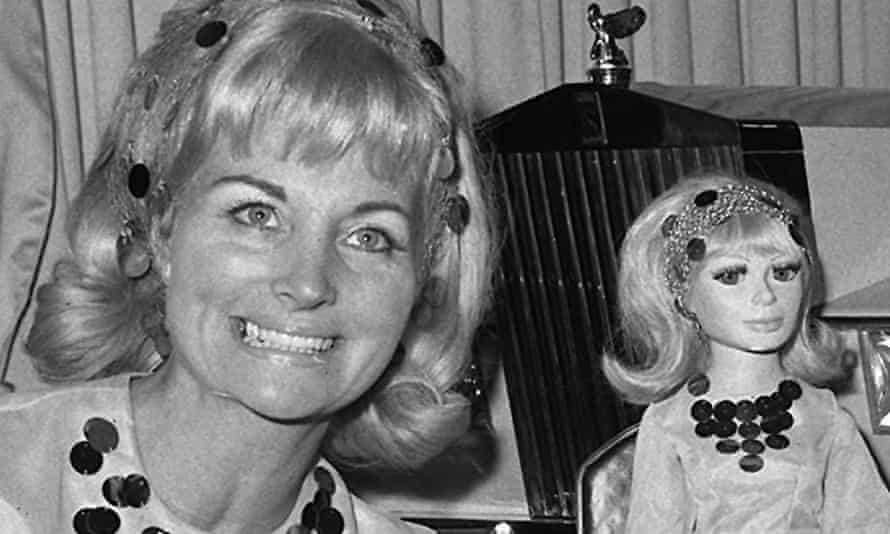 Sylvia Anderson and Lady Penelope of Thunderbirds