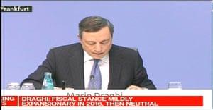 Mario Draghi today
