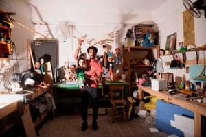 Marionette maker, Mohamed Fawzi Bakkar