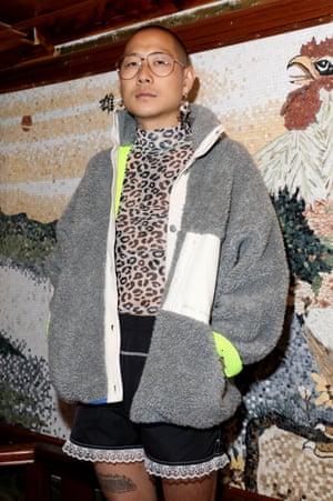 A Sandy Liang fleece at New York Fashion Week.