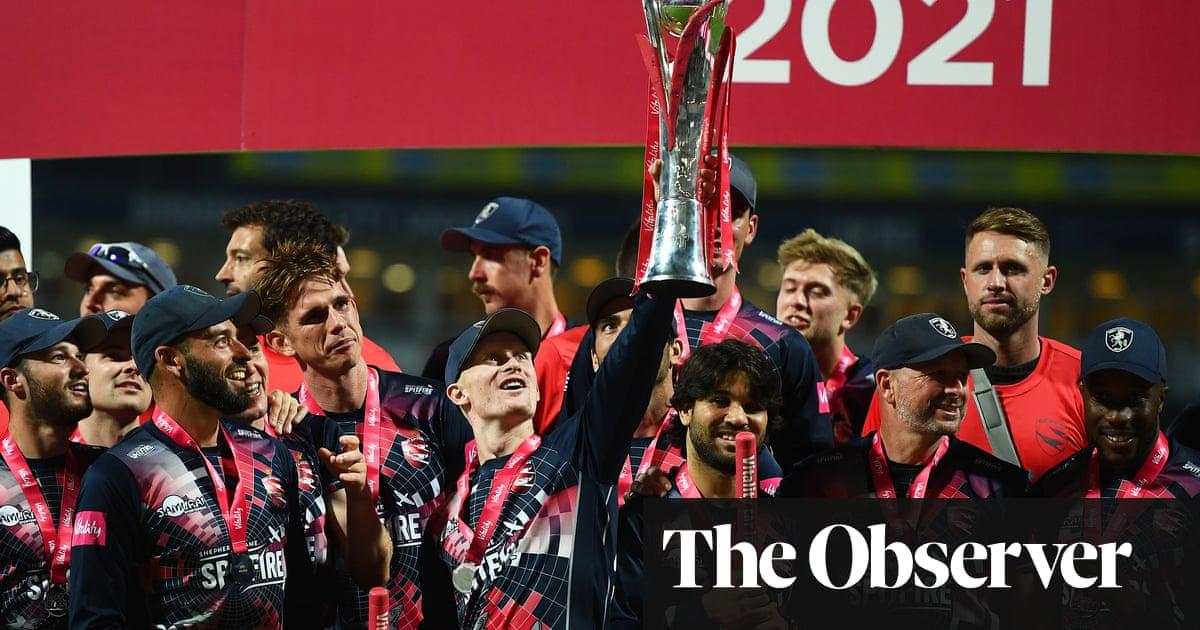 Kent beat Somerset to lift T20 Blast trophy with Jordan Cox the hero