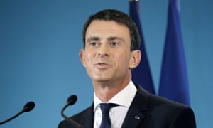 Prime Minister Manuel Valls says deficit reduction plans can wait as France invests in security