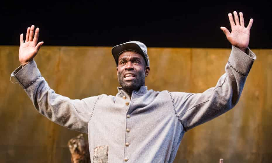 Steve Toussaint as Hero in Father Comes Home from the Wars.