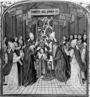 An illustration of the coronation