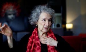 Margaret Atwood in Cuba in February.