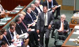 Special minister for State Mal Brough refused to answer questions relating to James Ashby.