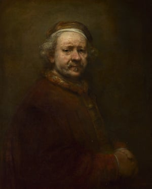 Rembrandt, Self Portrait at the Age of 63.
