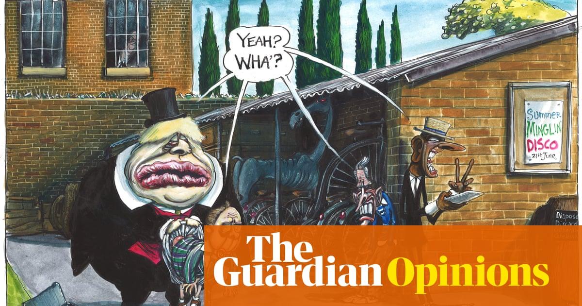 Martin Rowson on row over England's school catch up plan – cartoon