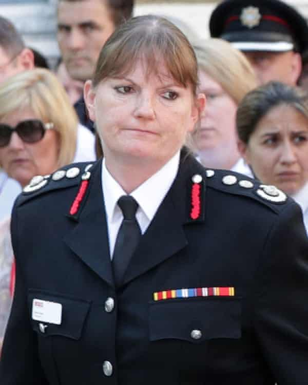 Dany Cotton, the London fire brigade commissioner.