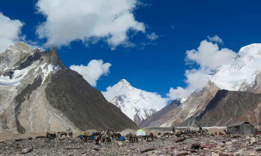 Winter winds on K2 can blow at more than 125 mph and temperatures can drop to -60C.